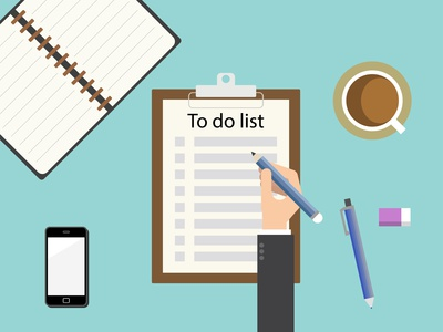 Timeline and checklist for the MBA application